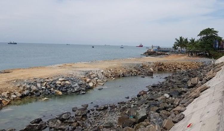Bà Rịa-Vũng Tàu: Tạm dừng dự án lấn biển của CTCP Du lịch cáp treo Vũng Tàu