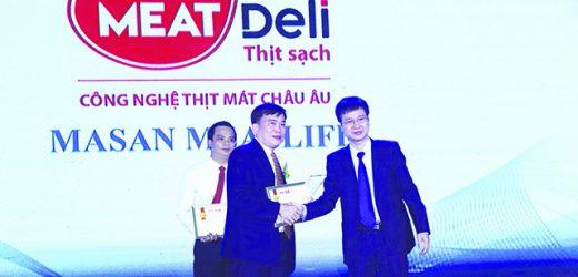 Thịt sạch – Công nghệ thịt mát châu Âu trong top 10 thương hiệu – sản phẩm được tin dùng nhất Việt Nam