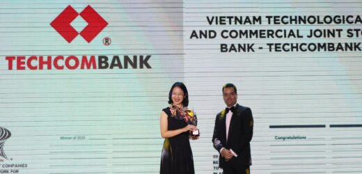 HR Asia Awards vinh danh Techcombank là 'Nơi làm việc tốt nhất châu Á'