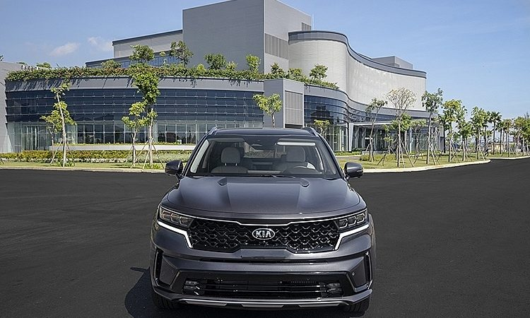 Thaco ra mắt mẫu xe KIA Sorento thế hệ mới