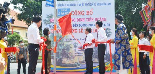 TP HCM công bố đặt tên đường Lê Văn Duyệt
