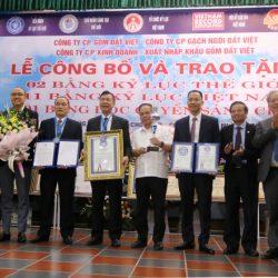 Vật liệu xây dựng đất sét nung Việt Nam lập cú đúp Kỷ lục Thế giới