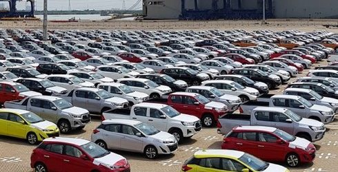 Hàng nghìn ô tô Thái, Indonesia đổ về Việt Nam, giá trung bình chỉ 287 triệu đồng/chiếc