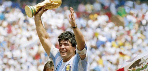 Huyền thoại Diego Maradona qua đời ở tuổi 60 sau một cơn đau tim