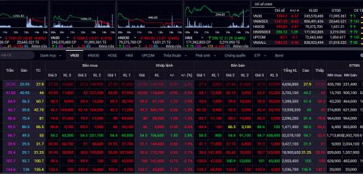 Rủi ro ngắn hạn của thị trường chứng khoán có dấu hiệu tăng lên