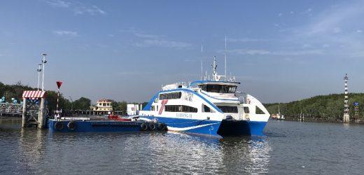 Phòng chống dịch COVID-19: Tạm ngừng tuyến tàu cao tốc TP.HCM – Cần Giờ – Vũng Tàu