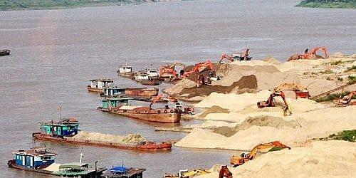 Siết quản lý khai thác cát, sỏi và bảo vệ lòng, bờ bãi sông