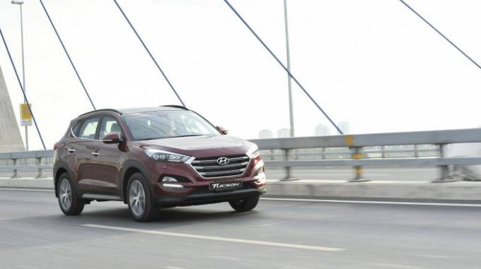 Triệu hồi hơn 23.500 xe Hyundai Tucson tại Việt Nam