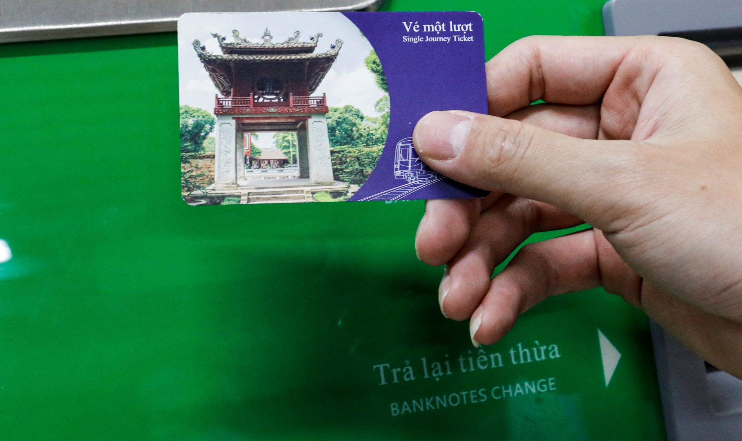 Giá vé chính thức tuyến Cát Linh – Hà Đông 13:12, 07/06/2021