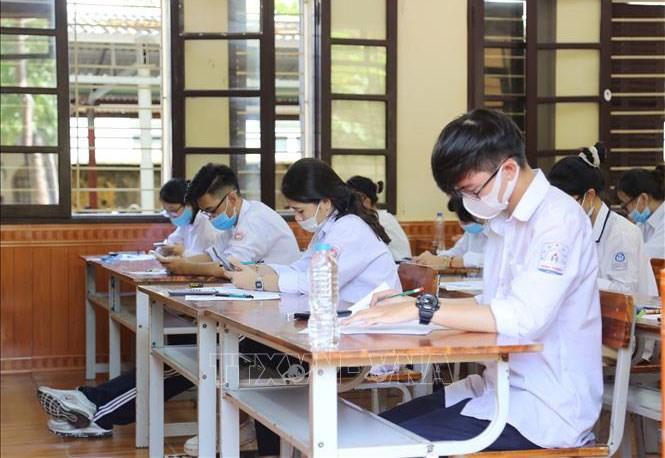 Nhiều giải pháp để bảo đảm quyền lợi cao nhất cho thí sinh thi tốt nghiệp THPT 2021