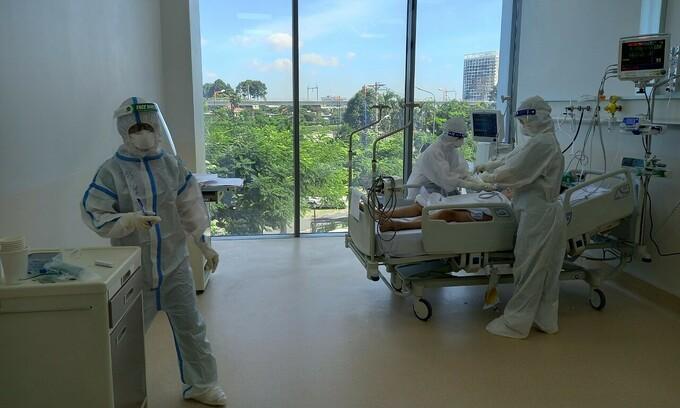 2.000 máy thở được Bộ Y tế chuyển vào TP. HCM