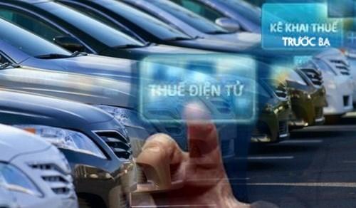 Gần 272 nghìn ôtô, xe máy đã nộp lệ phí trước bạ ôtô, xe máy bằng phương thức điện tử
