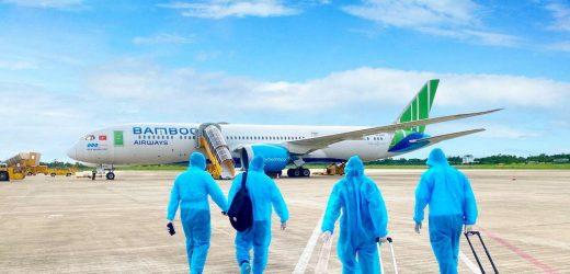 Bamboo Airways phối hợp tổ chức các chuyến bay đặc biệt đưa người Gia Lai về từ TP. Hồ Chí Minh và Bình Dương