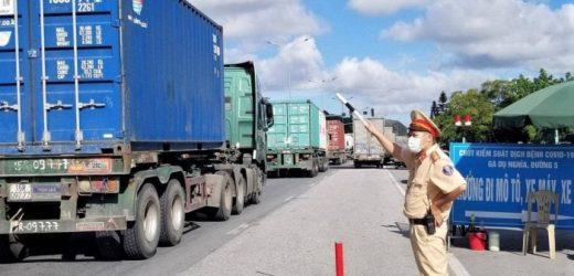 Công bố bản đồ 'luồng xanh' vận tải hàng hóa toàn quốc