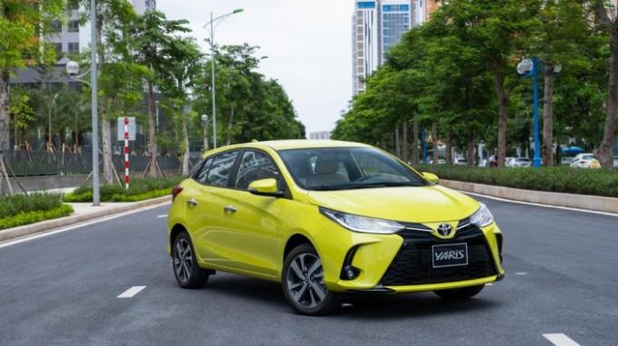 Toyota triệu hồi các phiên bản Yaris (2019-2020) vì bơm nhiên liệu