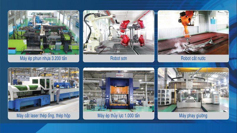 THACO AUTO đẩy mạnh sản xuất và cung ứng linh kiện phụ tùng, cơ khí