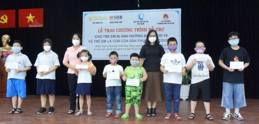 SHB chung tay hỗ trợ trẻ em bị ảnh hưởng từ dịch bệnh